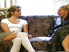 чорапи, блондинки, лесбийки