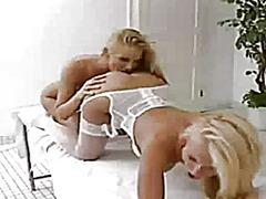 lesbiennes, massage
