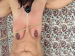 tits, brutal, beating, babe
